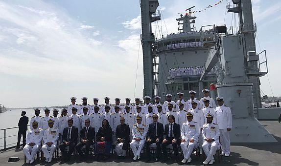 STM Tarafından Geliştirilen Denizde İkmal Gemisi Pakistan'a Teslim Edildi