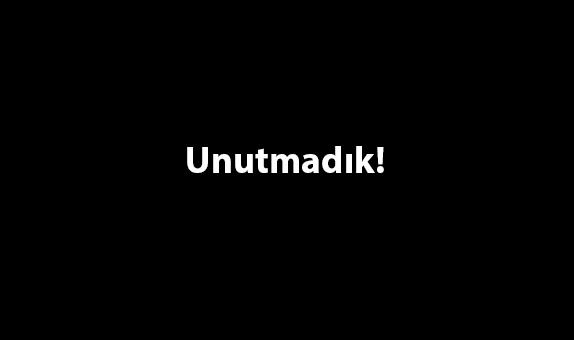 17 Ağustos Marmara Depremini Unutmadık, Unutmayacağız...