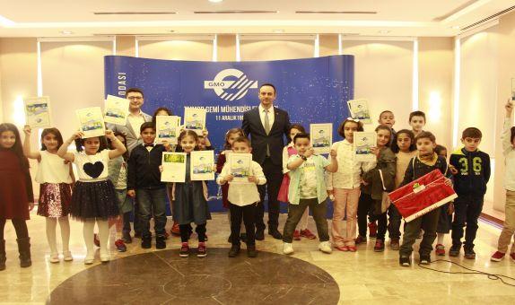 1. Ulusal Çocuk ve Gemi Konulu Resim Yarışması Ödülleri Verildi