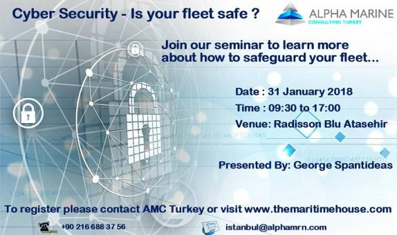 Alpha Marine Consulting Turkey 2018 Yılı Seminer Takvimini Açıkladı