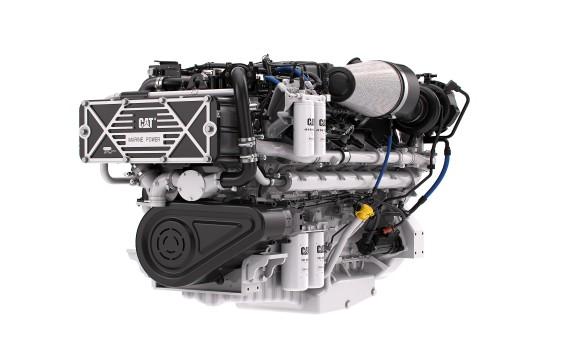 Caterpillar Marine Artırılmış Güç Yoğunluğuna Sahip Yeni Cat® C32B Deniz Motorunu Tanıttı
