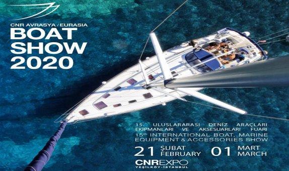 CNR Avrasya Boat Show Kapılarını Açıyor