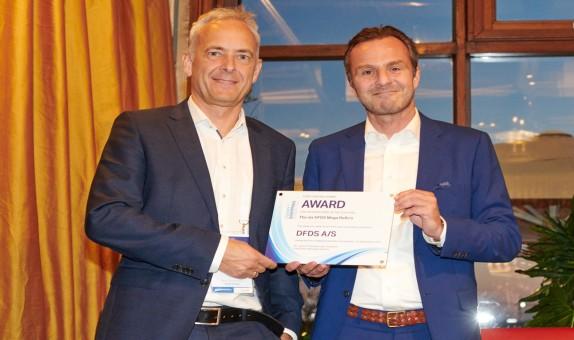 DFDS gemisine 'Avrupa Feribot Denizcilik' Zirvesi'nde Uluslararası Ödül