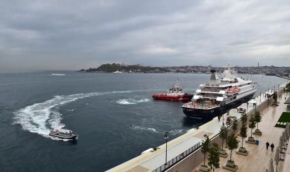 Galataport İstanbul İlk Yolcu Gemisini Ağırlıyor