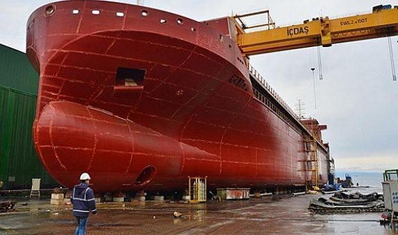 İÇDAŞ Dünya Devlerine Gemi Üretiyor