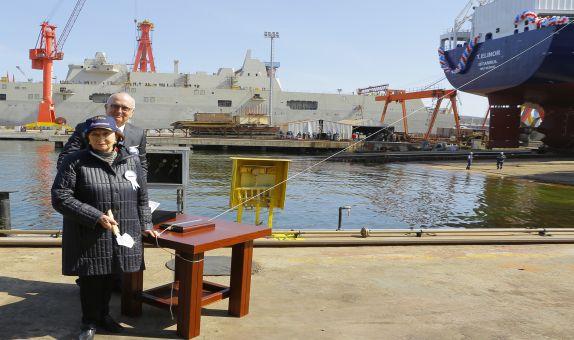 RMK Marine'de T. Elinor Tankeri Törenle Denize İndirildi