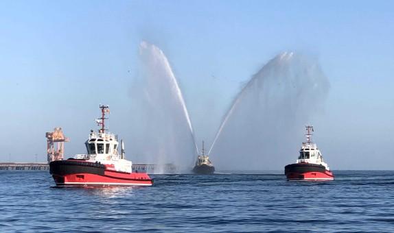 Sanmar Römorkörleri ile Sohar Limanı'nda Yeni Bir Dönem Başlıyor!