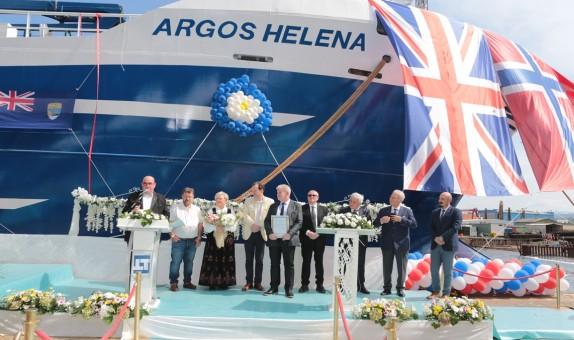 Tersan Tersanesi 100. Yeni İnşa Argos Helena'yı Teslim Etti