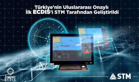 Türkiye'nin Uluslararası Onaylı İlk ECDIS'ı STM tarafından Geliştirildi