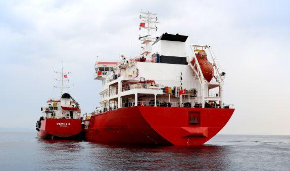 Türkiye'nin ilk yeni nesil denizcilik yakıtı  VLSF ikmalini Petrol Ofisi gerçekleştirdi