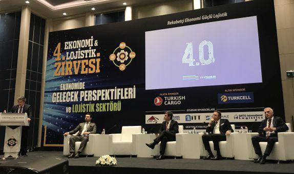 TÜRKLİM 4. Ekonomi ve Lojistik Zirvesi'nde