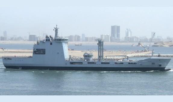 Pakistan Deniz Kuvvetleri Denizde İkmal Gemisi, İlk Seyrine Çıktı