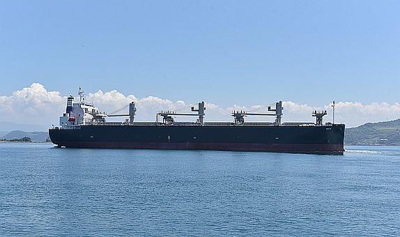 Kastamonu Entegre, Japon Oshima Tersanesi'ne İnşa Ettirdiği Gemiyi Teslim Aldı