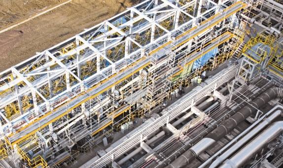 PERI UP ROSETT FLEX Tam Güvenli Endüstriyel İş İskeleleri